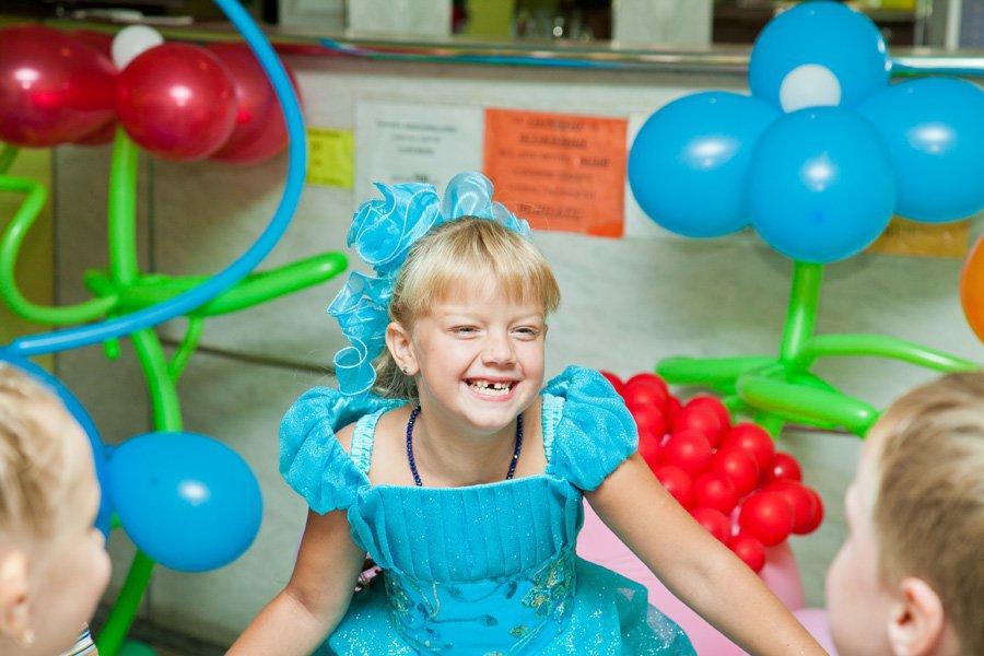 Детские праздники воздушные шарики